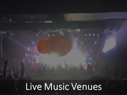 Where To See Live Music