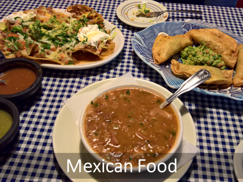 Lots Of Great Mexican Food In Chicago